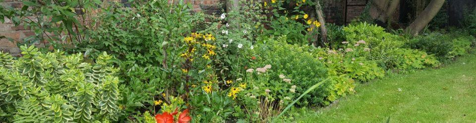 Gardening club page header